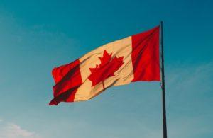 Canadian flag Canada Sanofi influenza vaccine